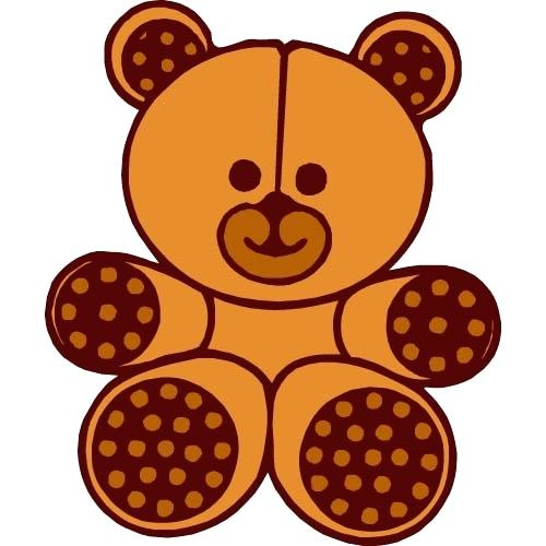 500x500 Teddy Bear Clip Art Black And White 0 Images About Teddy Bear Tags