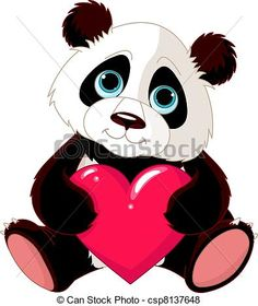 236x280 Black And White Panda Clip Art Panda Clip Art