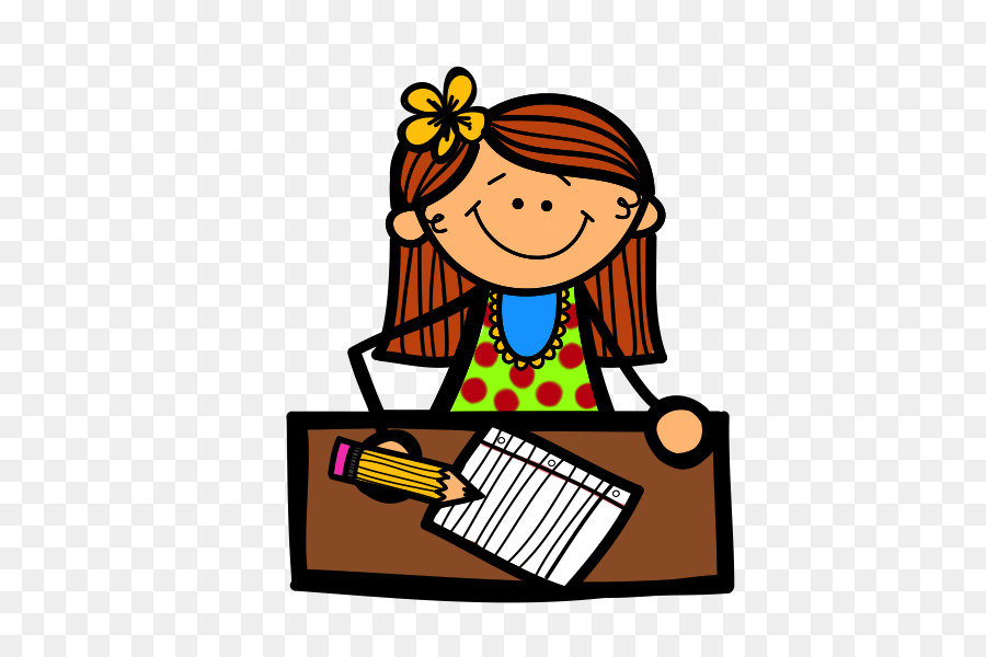 900x600 Writing Girl Blog Reading Clip Art