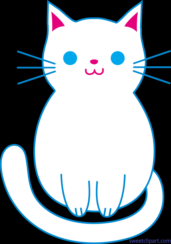 3528x5039 Cat Kitten Cute White Clip Art