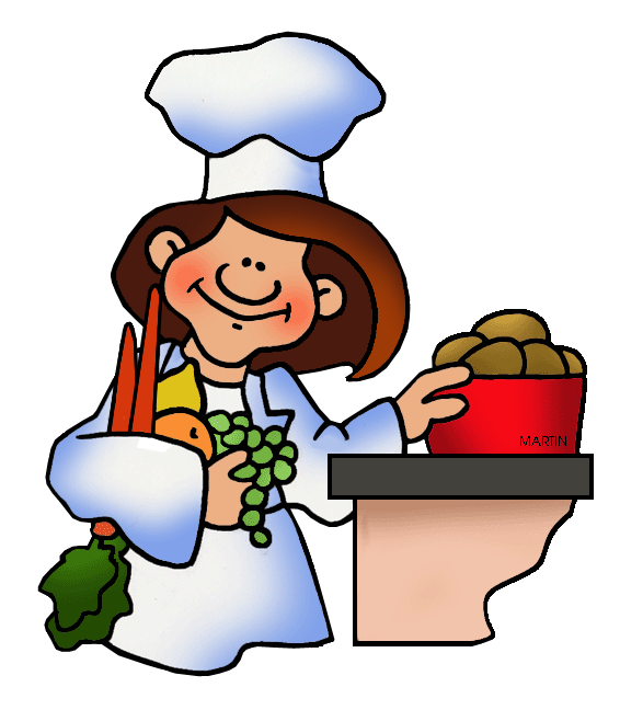 566x648 Occupations Clip Art By Phillip Martin, Chef
