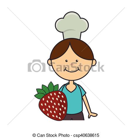 450x470 Avatar Boy With Chef Hat. Avatar Boy Smiling With Chef Hat