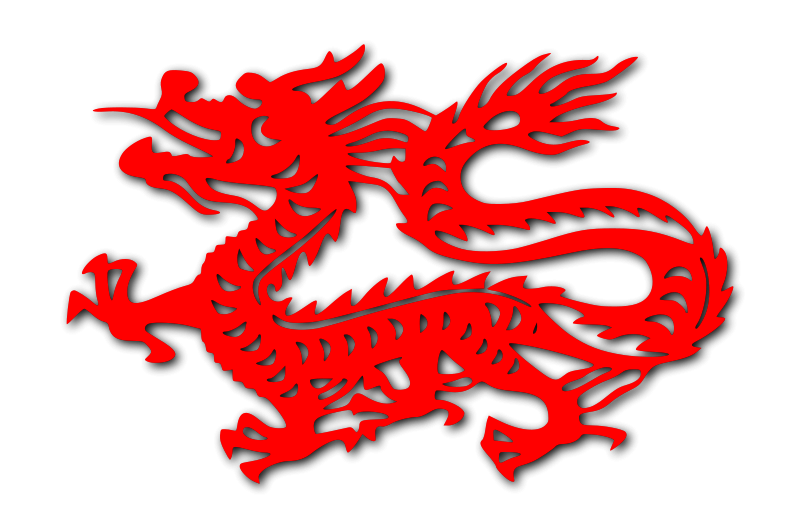 800x528 Free Clipart Chinese Dragon Grin