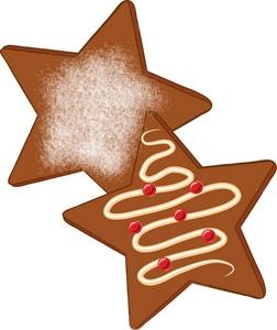 252x300 Christmas Cookie Star Clip Art Clipart Panda