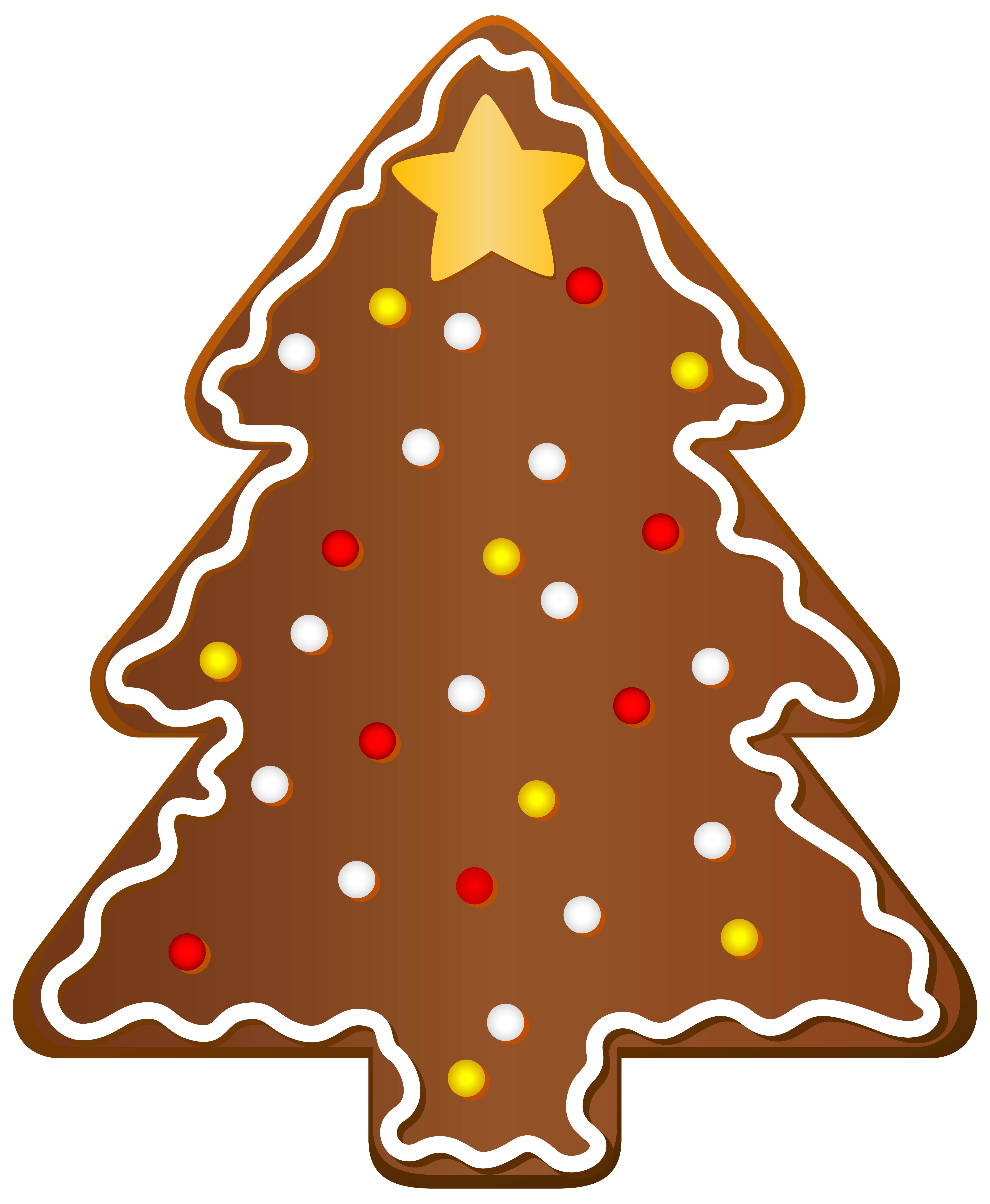 5095x6193 Christmas Cookie Tree Clipart Png Imageu200b Gallery Yopriceville