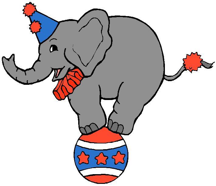 710x612 Circus Elephants Clip Art