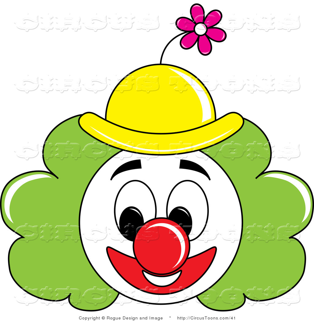 1024x1044 Clown Face Clipart
