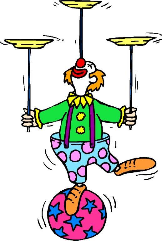 518x766 Free Circus Clown Clipart Image