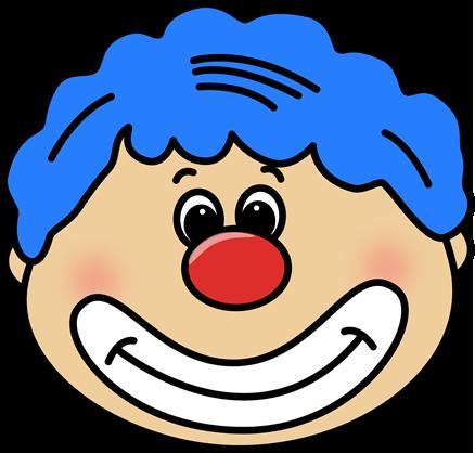 438x418 Face Clipart Circus Clown Face Clip Art Circus Clown Face Image