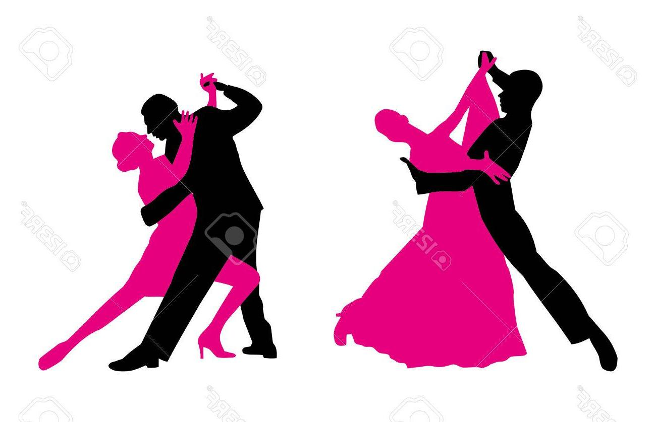 1300x838 Best Free Couples Are Dancing Vector Clip Art Magenta And Black