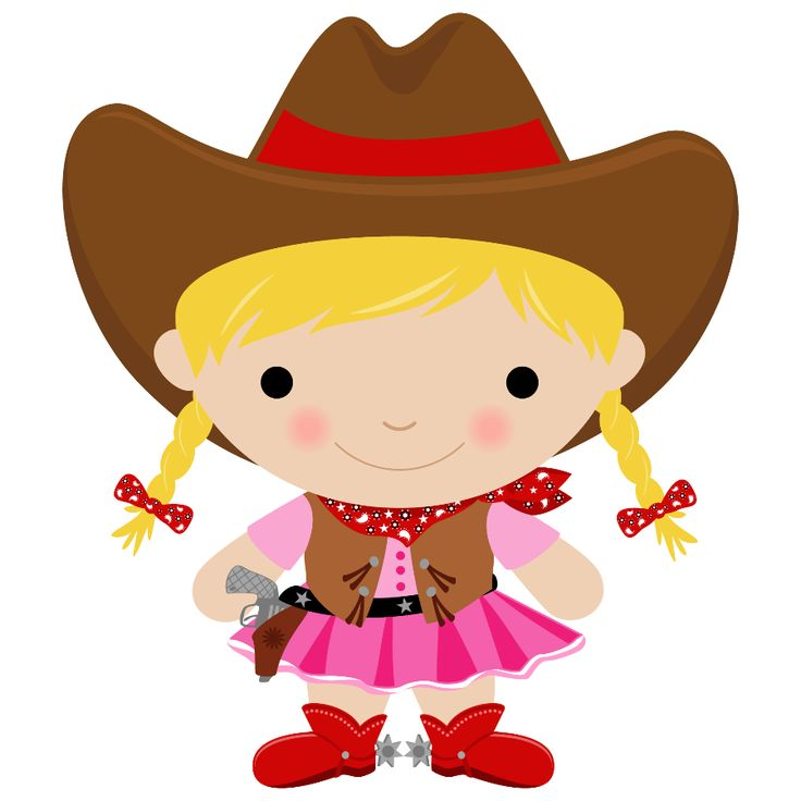 Clipart Cowgirl