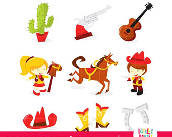 340x270 Cowgirl Clipart Etsy