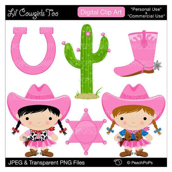 564x564 Cowgirl Clipart Lil