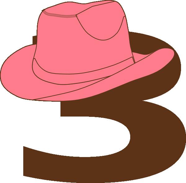 600x592 3 Cowgirl Hat Clip Art