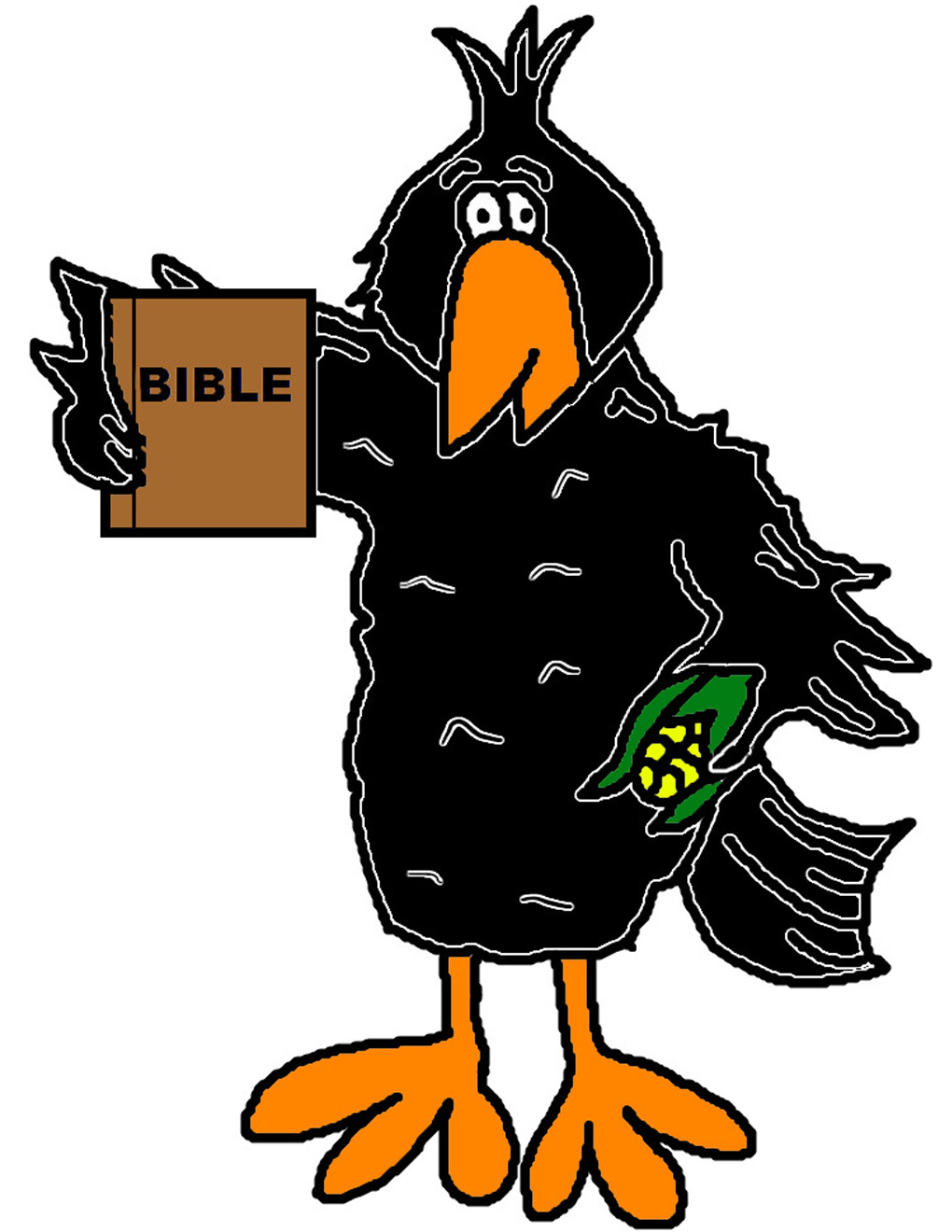 1020x1320 Crow Clip Art Viewing Gallery Clipart