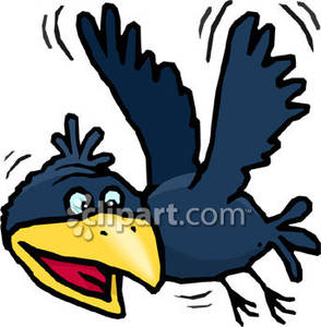 294x300 Collection Of Crow Clipart Flying High Quality, Free