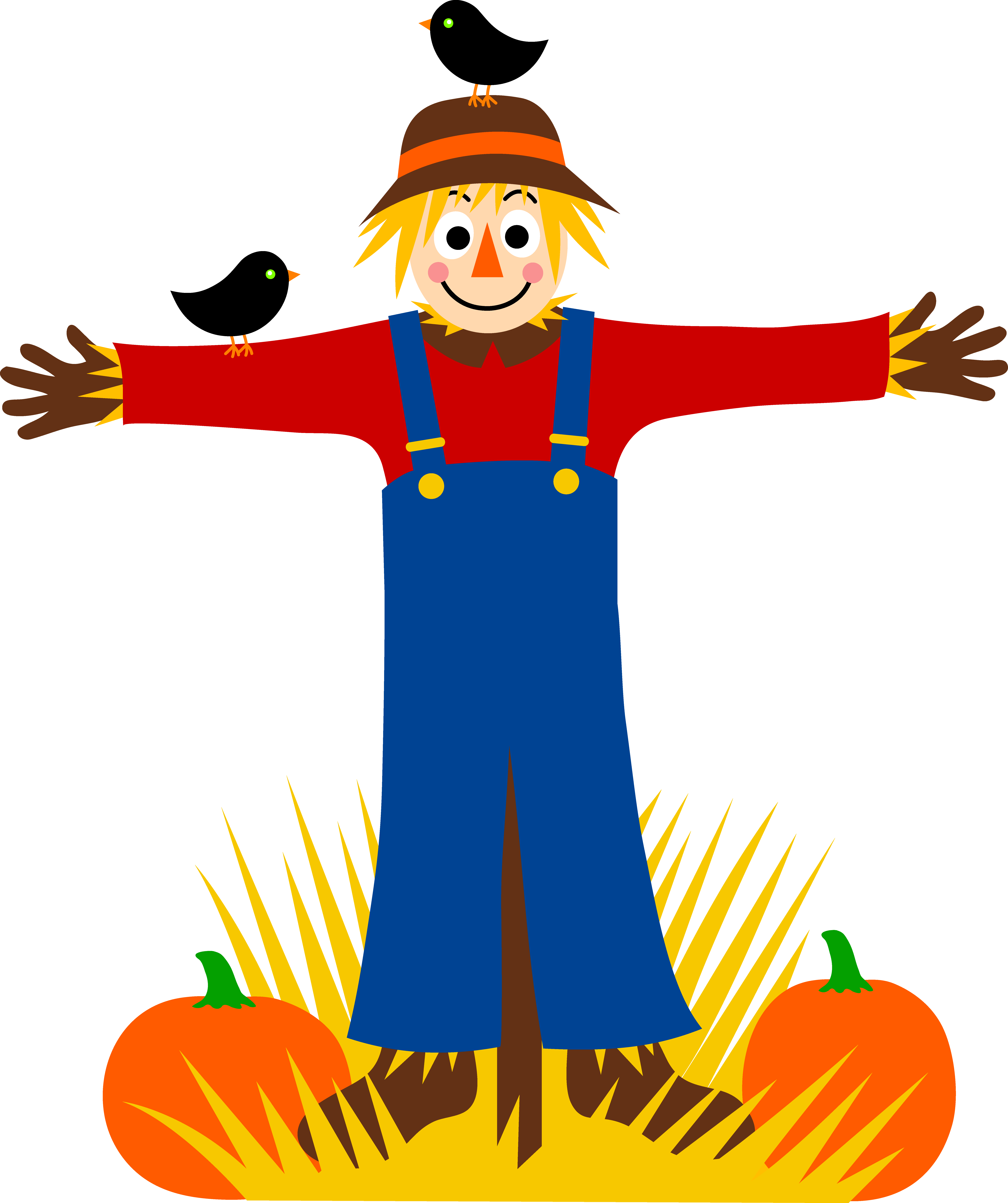 7219x8614 Scarecrow Clip Art Pictures Free Clipart Images