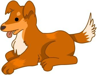 Clipart Cute Dogs