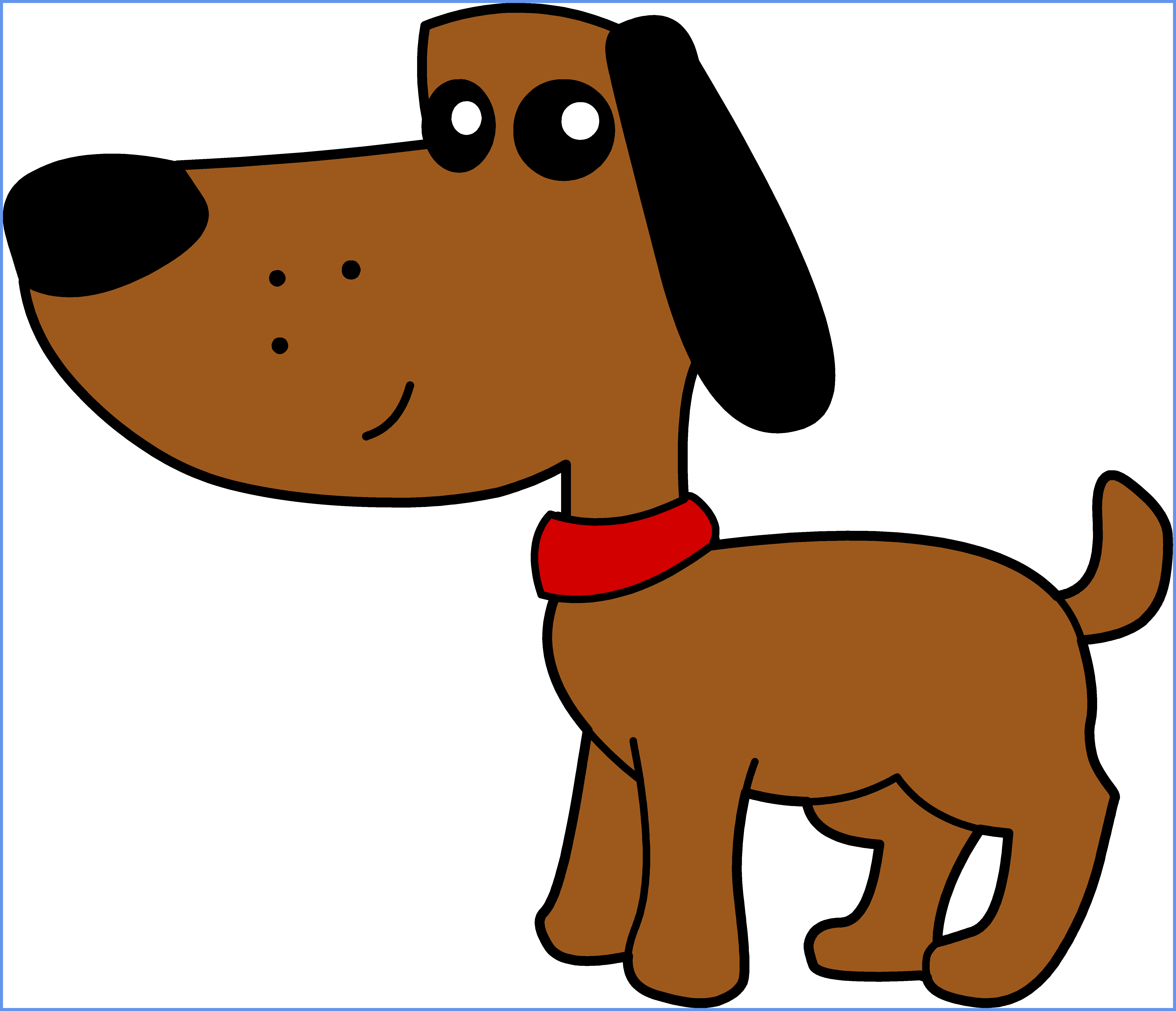 5963x5125 Shocking Cute Dog Clipart Clip Art Library Of Cartoon Ideas