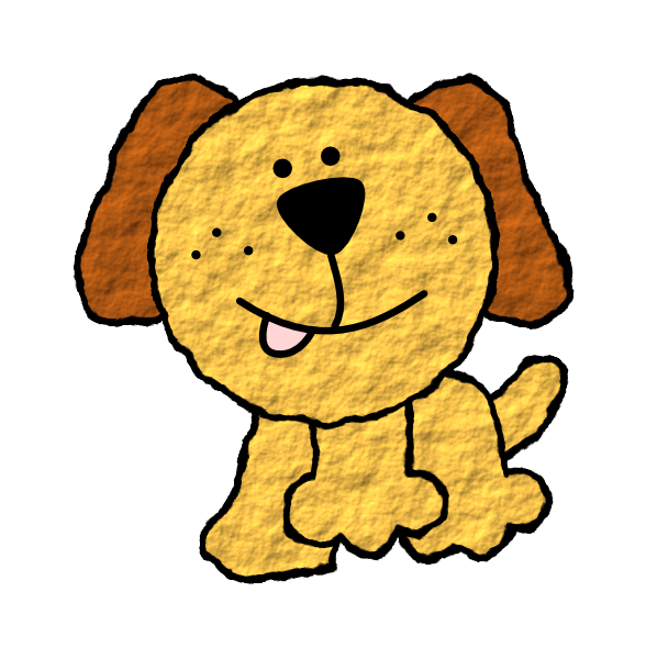 588x600 Cute Dog Clipart Dog Clip Art