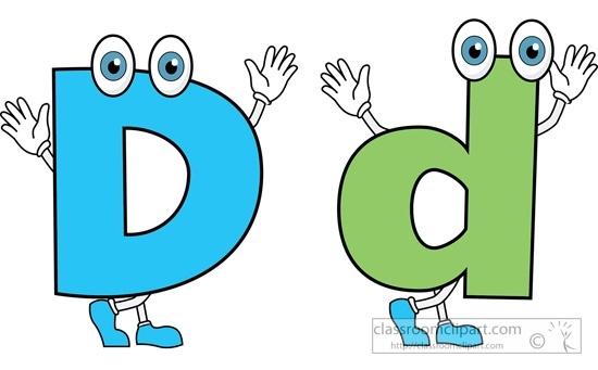 550x341 Letter D Clip Art Lowercase D