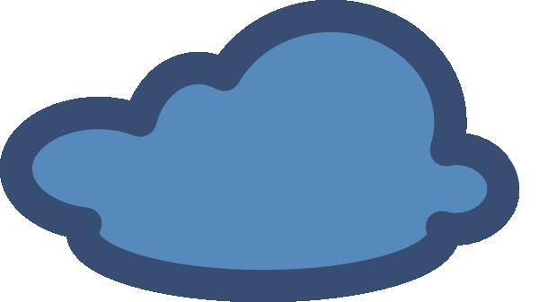 600x337 Cloud Blue Modified D Clip Art