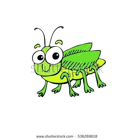 450x470 Clip Art Grasshopper Of Grasshopper And Ant Vector Illustration