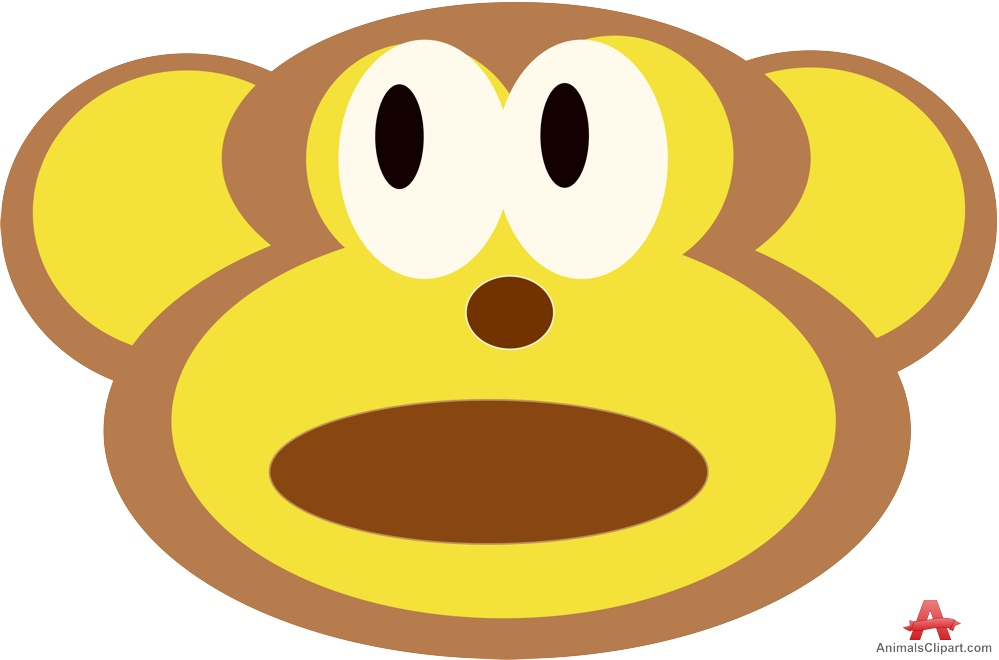 999x660 Monkey Face Face Of Monkey Clipart Free Design Download