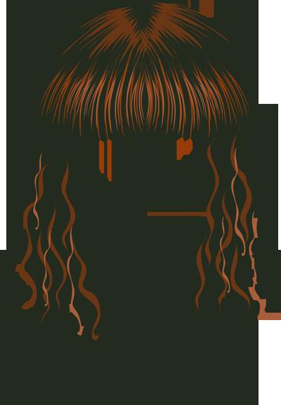 400x577 Hair Cartoon Clipart