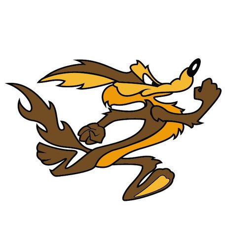 456x456 Free Wile E. Coyote Vector Image.eps Clipart And Vector Graphics