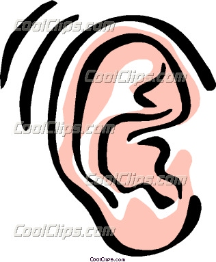 316x383 Ear Clip Art Black And White Clipart Panda