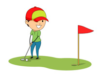 210x153 Easy Golfing Images Clip Art Sports Clipart Free Golf To Download