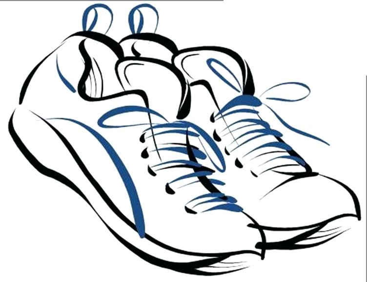 752x579 Free Clip Art For Schools Running Shoes Free Images S And Running