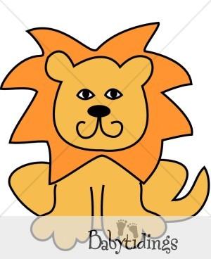 300x388 Lion Clipart Simple