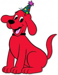 233x300 Clifford Clipart Easy Dog