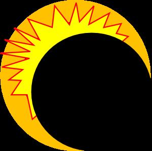 300x298 Eclipse Clip Art