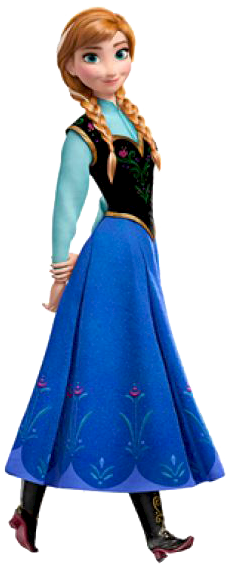 232x571 Collection Of Frozen Clipart Anna High Quality, Free