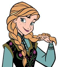 200x231 Elsa Braid Clipart