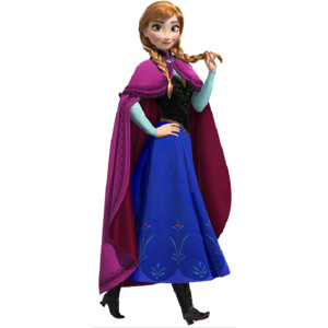 300x300 Anna From Frozen Clipart