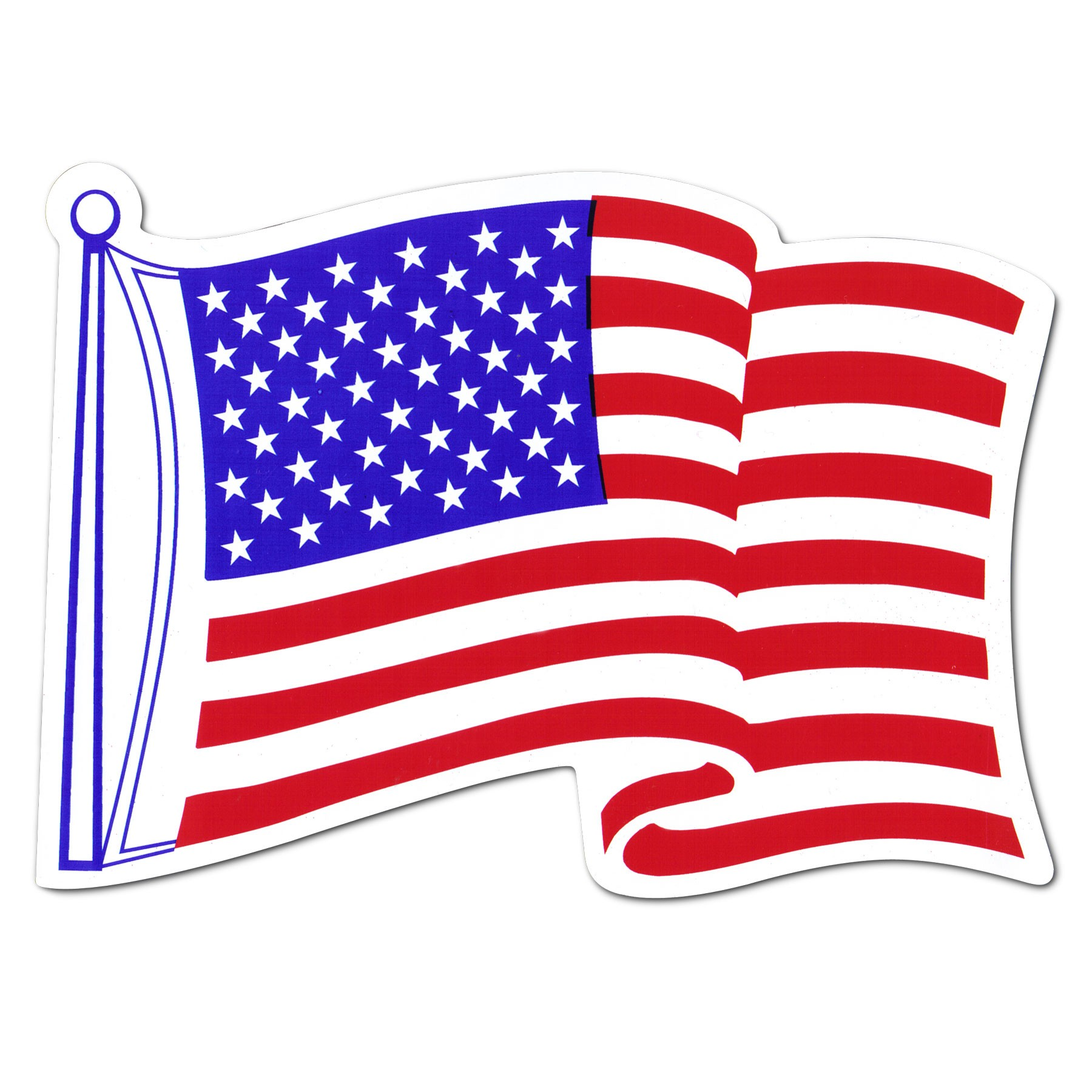 1800x1800 Clip Art Usa Flag Free