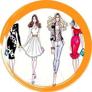 300x300 Fashion Design Sketches For Android