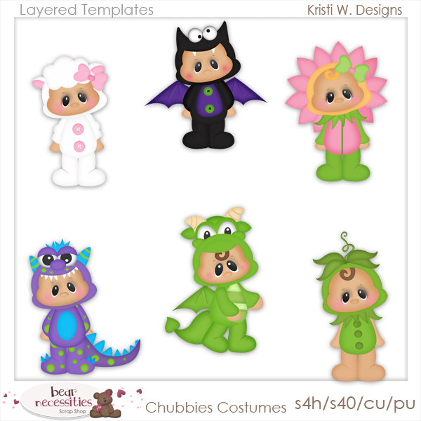 600x600 Halloween Collection Clip Art Designs, Commercial Use Products