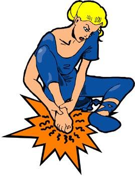 269x350 Aching Feet Clip Art Clipart