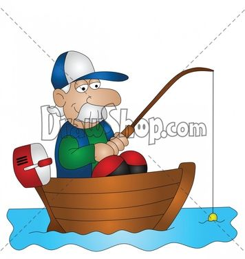 356x375 Google Images Clip Art Free Of Fish Fisherman Cartoon Without