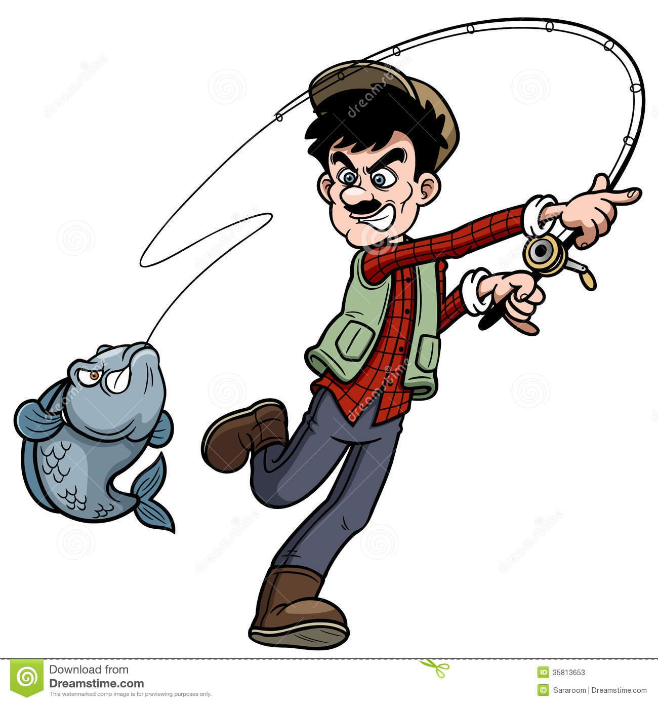 1300x1390 Clip Art Cartoon Fisherman Clip Art