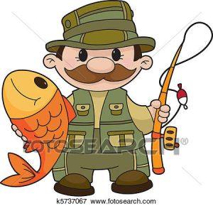 300x290 Fisherman Clip Art Clip Art Of Fisherman K5737067 Search Clipart