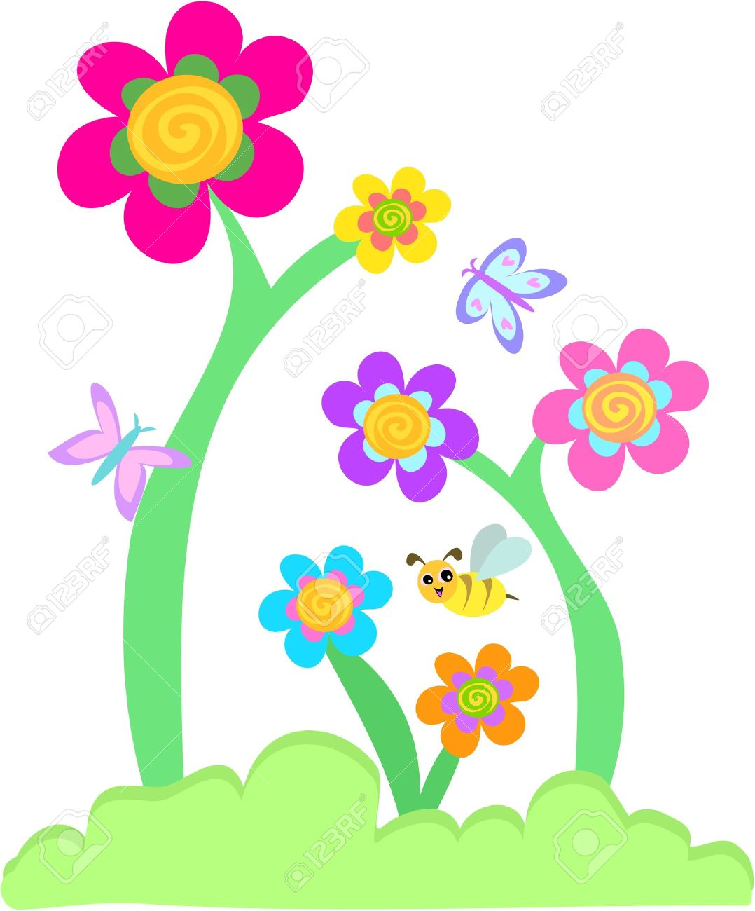 clipart flowers and butterflies at getdrawings com free for rh getdrawings com pink flowers and butterflies clipart spring flowers and butterflies clipart