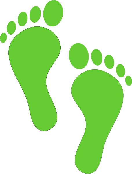 456x600 Footprint Clip Art Vector Further Foot Clip Art As Well As Baby