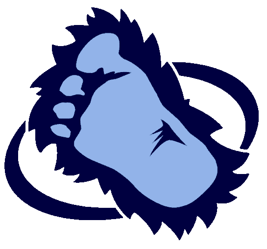 545x508 Bigfoot Footprint Clipart