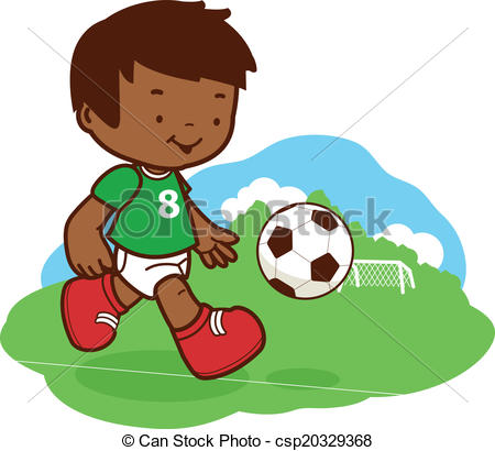 450x410 Top 92 Playing Soccer Clip Art
